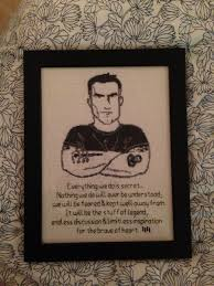 Henry Rollins Quotes Love by Did This Henry Rollins Cross Stitch Based On Wwhrd With A Quote