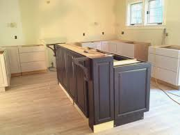 building an island kitchen building an island kitchen great build