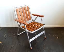 Lightweight Aluminum Webbed Folding Lawn Chairs 1960 U0027s Beach Chair Beach Chairs Pinterest Beach Chairs