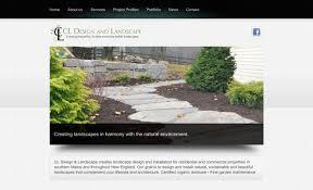 wood and company a portland maine graphic design website design