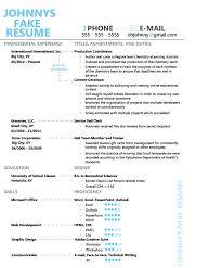 Fake Resumes That Work Fake Resume Pitch Billybullock Us