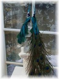 peacock wedding cake topper exquisite curled feather peacock cake topper christmas by ivyndell