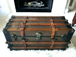 steamer trunk side table steamer trunk furniture luggage style furniture medium size of side