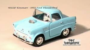 4022d kinsmart 1955 ford thunderbird diecast wholesale mpg youtube
