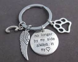 remembrance keychain no longer by my side etsy