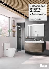 muebles de lavabo muebles de baño catálogo roca 2017 imuebles