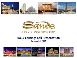 Seeking Las Vegas Las Vegas Sands Corp 2017 Q4 Results Earnings Call Slides