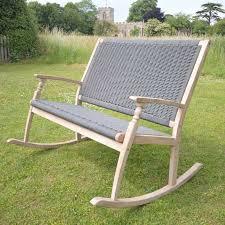 wonderful rocking garden bench redwood bench rocker bench redwood