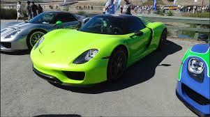 Porsche 918 Custom - lime green porsche 918 spyder weissach page 2 rennlist