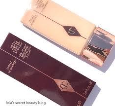 charlotte tilbury light wonder foundation swatches lola s secret beauty blog charlotte tilbury light wonder youth