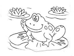 crazy frog coloring page jumping frog coloring page 16108