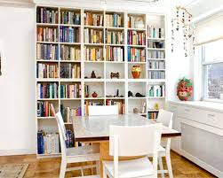 bookshelves in dining room bookcase in dining room dining room trendy duo dining room library