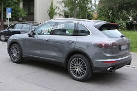 Porsche Cayenne Facelift - vwvortex com porsche cayenne facelift spied testing with new e