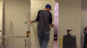 learn how to install a prehung door in less than 12 minutes youtube