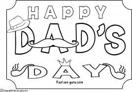Printable Happy Dads Day Coloring Pages For Kids Printable Day Printable Coloring Pages