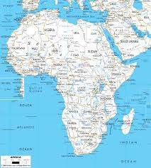 African Countries Map Detailed Clear Large Road Map Of Africa Ezilon Maps