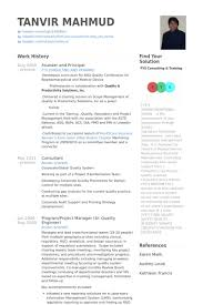 Principal Resume Template Founder And Principal Resume Samples Visualcv Resume Samples
