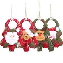 buy fabric tree ornaments and get free shipping on