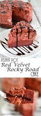 instant pot red velvet rocky road cake