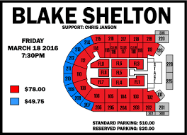 Mohegan Sun Arena Floor Plan Blake Shelton Mohegan Sun Arena