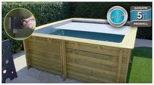 piscine bois en kit urbaine pour petits espaces piscine center net