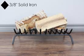 black iron fireplace grate 24