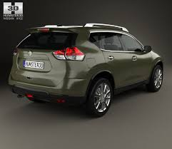 nissan car models 2015 nissan x trail 2015 3d model hum3d