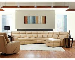 Best Leather Sectional Sofas American Made Best Reclining Leather Sectional Ventana Clp114