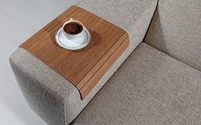 couch arm coffee table amazon com sofa tray table bahama teak sofa arm tray armrest