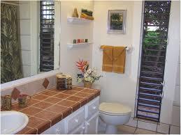 Tropical Decor Bathroom Floating Table Sinks Bathroom Tropical Decor Beige