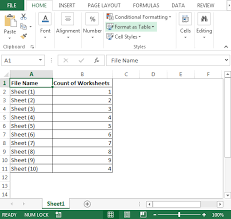 count worksheets in multiple files microsoft excel tips from
