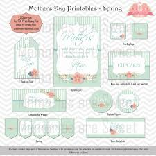 mother u0027s day printables and party supplies lifes little celebration