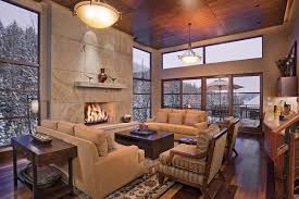 colorado springs home theater over the edge chalet luxury retreats
