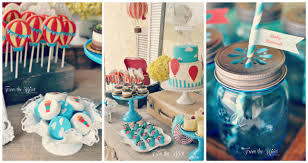 jar baby shower ideas hot air balloon baby shower ideas baby shower inspiration baby