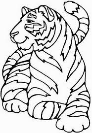 cute baby tiger coloring pages coloring home