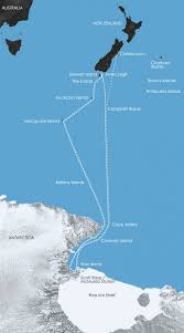 Spirit Route Map by In The Wake Of Scott And Shackleton To Invercargill Polar Cruises
