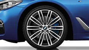 20 m light alloy double spoke wheels style 469m bmw 5 series sedan accessories