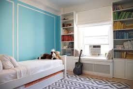 turquoise walls contemporary u0027s room benjamin moore