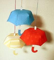 How To Make Paper Umbrellas - sombrilla como hacerla adornos dolls miniatures