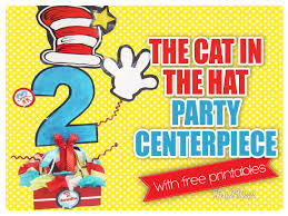 Cat In The Hat Party Decorations The290ss The Cat In The Hat Party Centerpiece