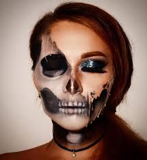 melted makeup look for halloween popsugar beauty