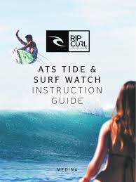 watch instruction guide by rip curl australia issuu