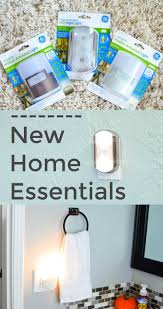 new home essentials ge motion activated led night lights