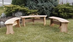 custom curved outdoor garden bench best adirondack chair company