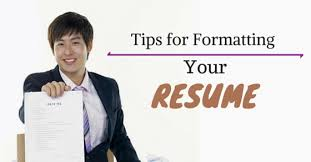top 25 must follow resume formatting tips and guidelines wisestep