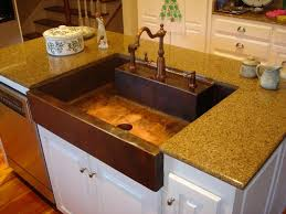 Drop In Farmhouse Kitchen Sinks Unique Drop In Farmhouse Sinks Copper Kitchen Pic Home