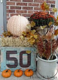 Pinterest Harvest Decorations 16 Best Harvest Decorated Mini Straw Bales Images On Pinterest