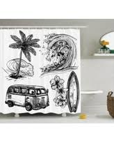 holiday shopping special antique decor shower curtain set sketch