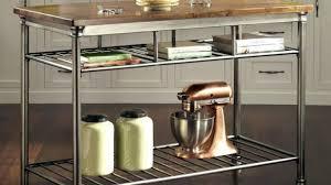 steel top kitchen island august grove regiene kitchen island with stainless steel top for