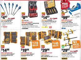black friday sale ads for home depot home depot black friday 2016 tool deals